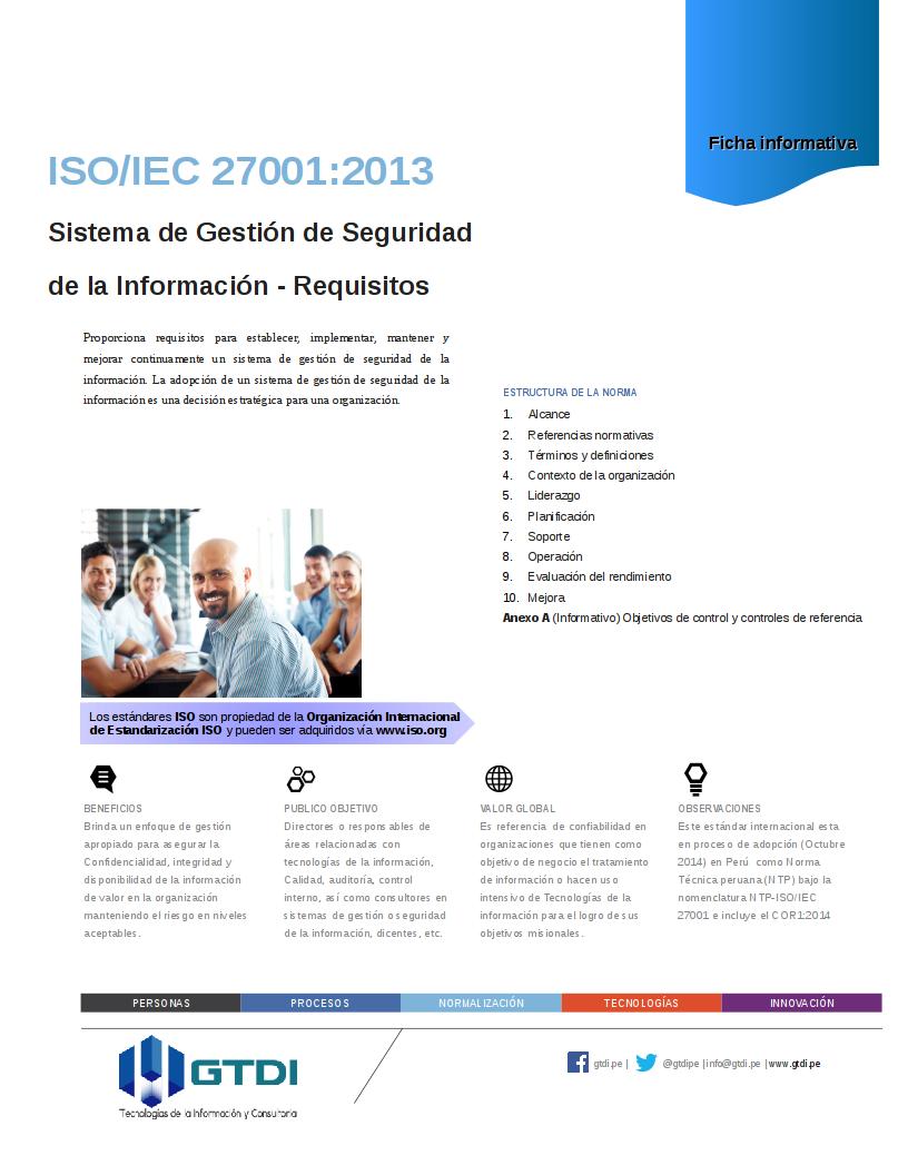 ISO IEC 27001 2013 NTP